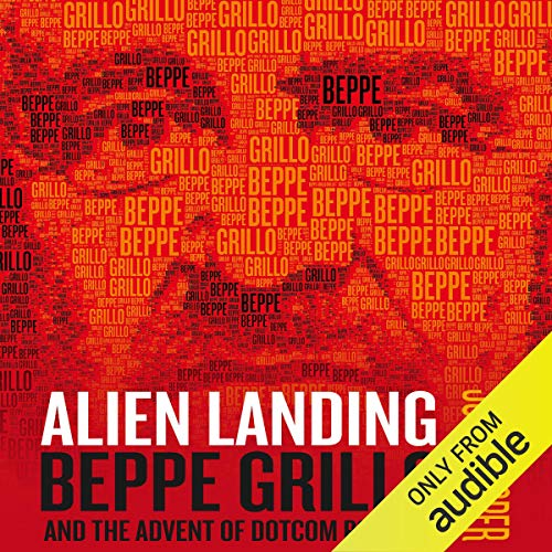 Alien Landing audiobook cover art