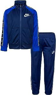 Nike Swoosh Tape Tricot - Chándal para niño, color azul, 86G343-U90