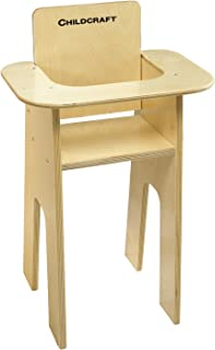 Childcraft Baby Doll High Chair, 14-1/2 x 11-5/8 x 24-1/8 Inches