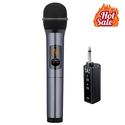 b0aef46862b5 Kithouse K380F Wireless Microphone Bluetooth Karaoke Microphone Wireless Mic  Microfono Handheld System - UHF Dynamic Cordless