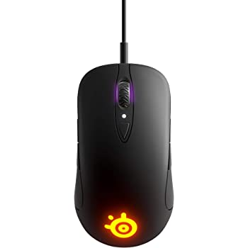 SteelSeries Sensei Ten - Gaming Mouse - 18, 000 CPI Truemove Pro Optical Sensor - Ambidextrous Design - 8 Programmable Buttons - RGB Lighting