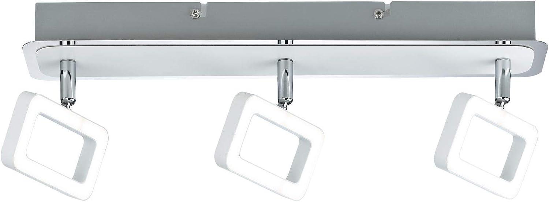 Paulmann 66640 Spotlight Frame 3x4,5W Wei  matt Chrom 230V Metall 666.40 Deckenleuchte Lampe LED Deckenlampe Deckenstrahler