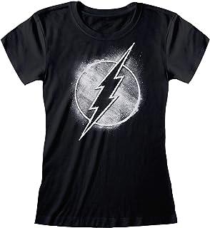 Flash DC Comics Oficial - Logo - Camiseta Mujer