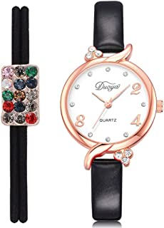Wristband Women's Wrist Watches Ladies Series Girls Watch Female for Women Women's pu Belt Fashion Watch Ladies Alloy Watc...