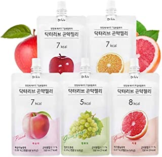NEW Dr.Liv Diet Konjac Jelly 150ml 1 BOX 10Kinds! 4 New Edition is included (2017 1Box (2eaX5))