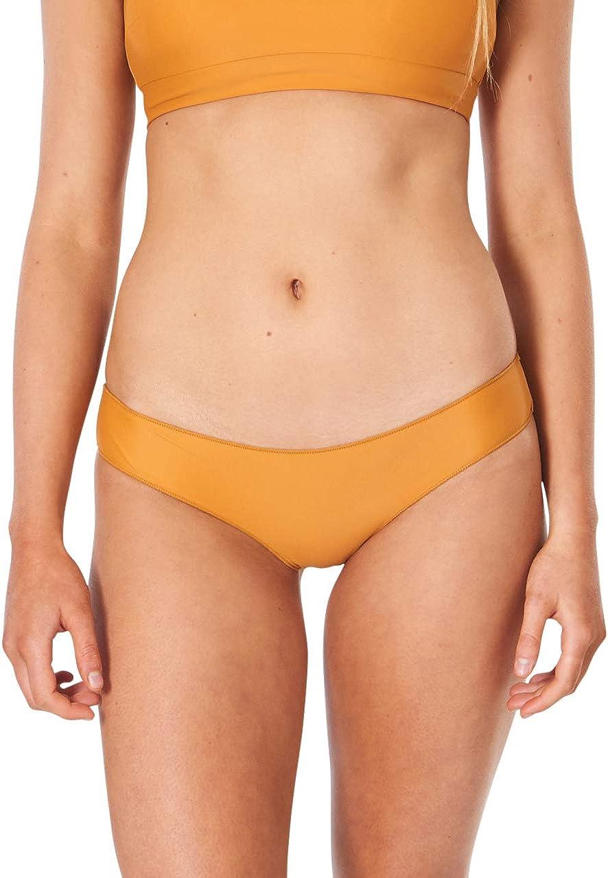 Rip Curl Women's Classic Surf Eco Cheeky Coverage Bikini Bottom