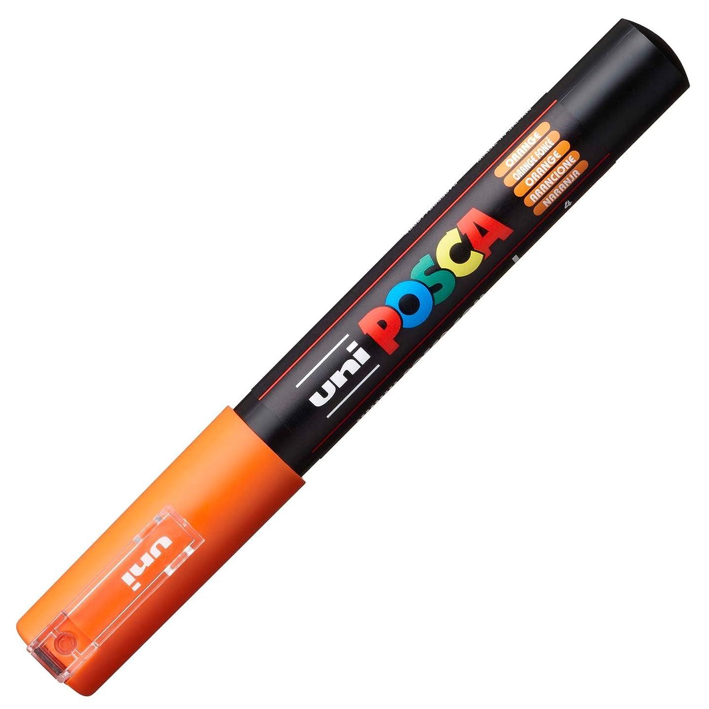 Uni Posca Extra Fine Marker, Orange (PC1M.4)