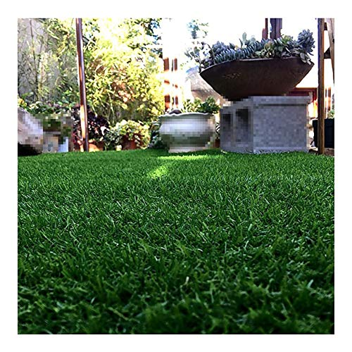 Artificial Grass Turf Easy Care Natural & Realistic Faux Grass Lawn Garden Auto Show Synthetic Turf Mat, Multiple Different Sizes GHHZZQ (Color : 2.0cm, Size : 2x20m)
