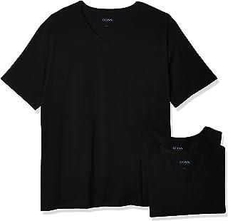 Hugo Boss Men's 3-Pack V-Neck Regular Fit Short Sleeve T-Shirt