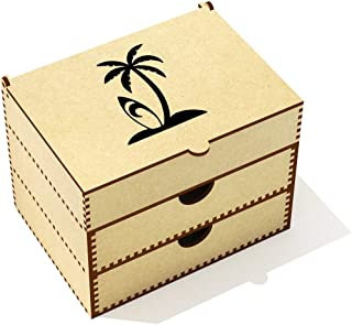'Surf Island' Vanity Case / Makeup Box (VC00001146)