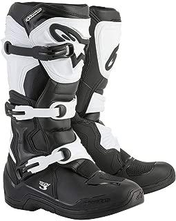Alpinestars Tech 3 Men's Black/White Motocross Boots - 12