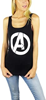 Marvel Womens Avengers Logo Tank Top