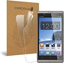 Celicious Vivid Invisible Glossy HD Screen Protector Film Compatible with Oppo U701 Ulike [Pack of 2]
