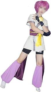 CHENJUNAMZ Traje de Traje de Carnaval de Anime Hunter X Hunter Machi Cosplay for Adultos Hombres y Las Mujeres del envío L...