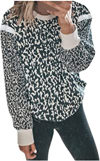 KANGMOON Womens Bohemia Open Front Cardigan Colorblock Long Sleeve Loose Knit Lightweight Sweaters Outerwear Coat