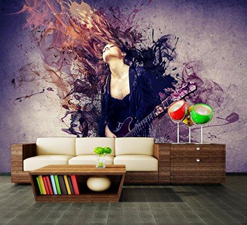 dalinda Premium Vliestapete Musik ist Leidenschaft Fototapete DA00000417 M 250 x 175 cm - 5 Teile - Vlies Vliestapete XXL