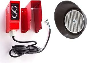 AB GATE Opener Safety REVERSING   Reflective Sensor   Photo Beam   Infrared Sensor   Reflector Photo Eye   with German Reflector