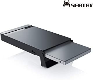 【2019最新版 USB3.0 HDD ケース 永久保証】 2.5インチ HDD/SSDケース 外付けケース 6Gbps SATAⅠ/Ⅱ/Ⅲ対応 9.5mm/7mm厚両対応 UASP対応 Windows/Mac 工具不要 簡単脱着