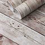 Wood Contact Paper for Cabinets Decorative Wood...