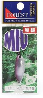 フォレスト(FOREST) ルアー MIU(ミュー)ネイティブシリーズ 4.2g №15 スプーン