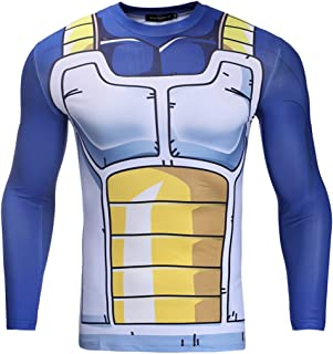 Mens Compression Under Base Layer Top Tight Long Sleeve T Shirts