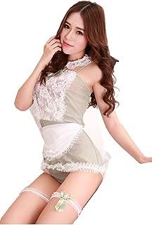 Women's Erotic Maid Costume Lace Sexy Lingerie Dirndl Temptation Dress up