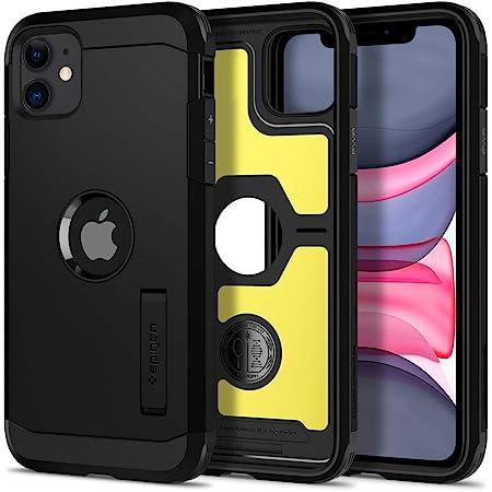 Spigen Back Cover For iPhone 11 ( TPU; Poly Carbonate|Black )