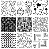 8PCS Line Quilting Stencil Kit Heart Reusable Template Stencils for Sewing on Fabric Quilt Clothes