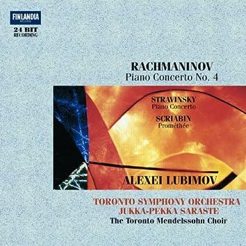 Rachmaninov: Piano Concerto 4 * Stravisnky * Scriabin