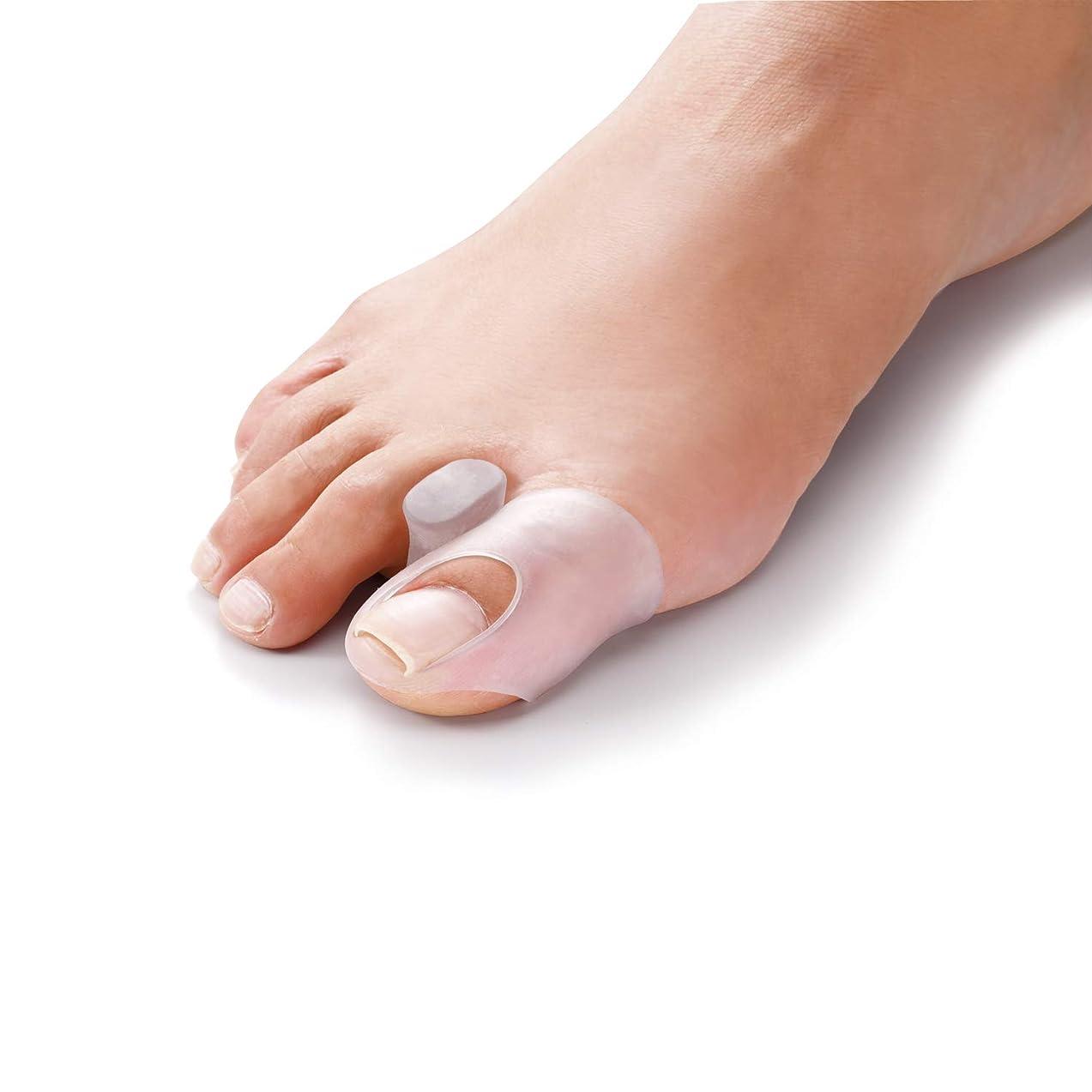等方法メルボルンやわらゲル 外反巻き爪ゲルサック 巻き爪 外反母趾 変型爪