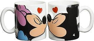 ディズニー ミッキー&ミニー キス ペア マグカップ 290g SAN2148