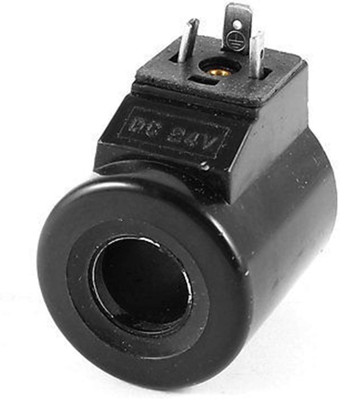 Electroválvula mecánica 24 V CC 36V / 110V / 220V / 380VAC 20 mm Núcleo Dia neumática de control de aire de la válvula electromagnética de la bobina de 12V / 53mm Altura Control de válvulas de gas y l