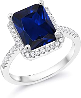 Best simulated sapphire ring Reviews