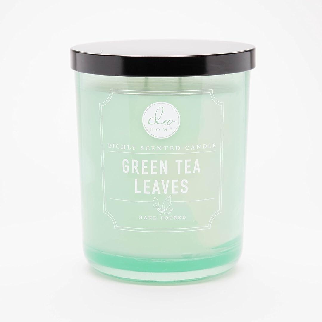 め言葉拡声器合理化Green Tea Leaves Richly Scented Candle Small Single Wick Hand Poured From Dw