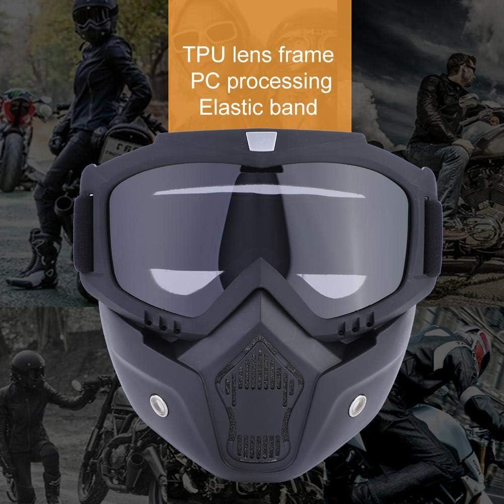Off-Road Goggle resistentes al viento gafas de protecci/ón para moto Gafas de moto con m/áscara extra/íble bicicleta Motocross Dirtbike colorful para exteriores