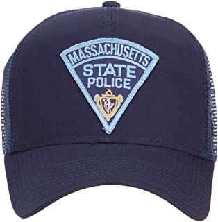 e4Hats.com Massachusetts State Police Patched Mesh Cap