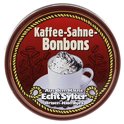 Echte Sylter Brisen Kl�mbjes Kaffee-Sahne-Bonbons, 70 g