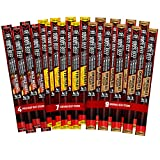 MADE WITH 100% PREMIUM BEEF – Each Jack Link's beef stick is made with 100% beef and expertly blended with a complex combination of herbs and spices. Jack Link's Original, Teriyaki, and Wild Heat flavors each deliver 6g of protein per stick to help y...