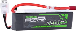 Ovonic 11.1V 2200mAh 3S 50C Lipo Battery with Deans Plug for E flite Valiant Parkzone E4F..