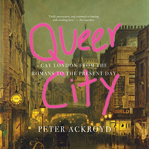 Queer City audiobook cover art