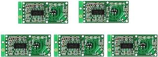 WINGONEER Sensor de radar de microondas 5PCS RCWL-0516 Detector de placa de inducción humano