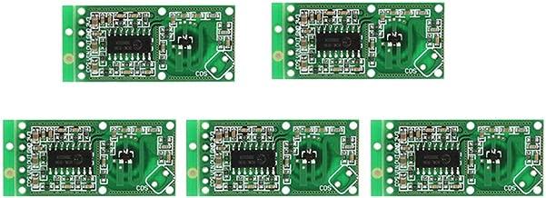 WINGONEER 5PCS Microwave Radar Sensor RCWL-0516 Switch Module Human Induction Board Detector