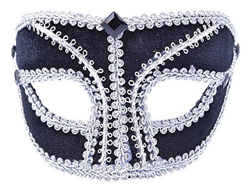 Black/Silver Mask. Male
