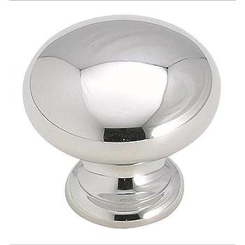 Diameter Polished Chrome Cabinet Knob 32 mm Amerock BP5302226 Allison Value 1-1//4 in
