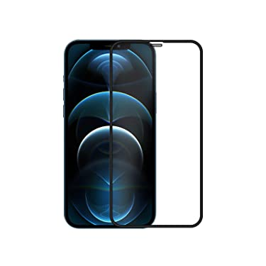 """Nillkin Tempered Glass for Apple iPhone 12 Pro Max (6.7"""" Inch) 3D PC Full Coverage Ultra Clear Tempered Glass 0.33mm, Shatterproof PC Material Edge"""