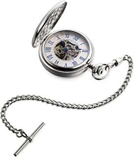 Dalvey Skeletal Half Hunter Pocket Watch