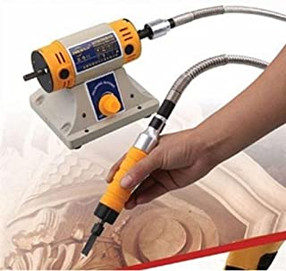 110V Electric Chisel Carving Tool Wood Carving Machine Woodworking Chisel (Host +Chisel + shaft)