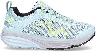 MBT Women's 7009241090 Green Nylon Lace-Up Shoes