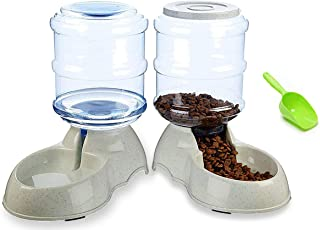 Pet Feeding Solution Automatic Cat & Dog Cafe Feeder and Water Dispenser in Set with Food Scoop - Ito Rocky 6-Meal Automatic Food Dispenser for Small / Middle Puppy and Kitten