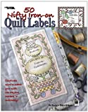 50 Nifty Iron-On Quilt Labels-Great to Use with Fabric Markers or Embroidery